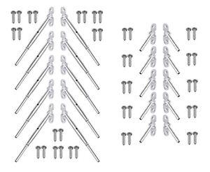 10 Kit Surface Mount Toggle Assembly 1/8