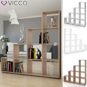 details sur vicco meuble rangement bibliotheque etagere de separation