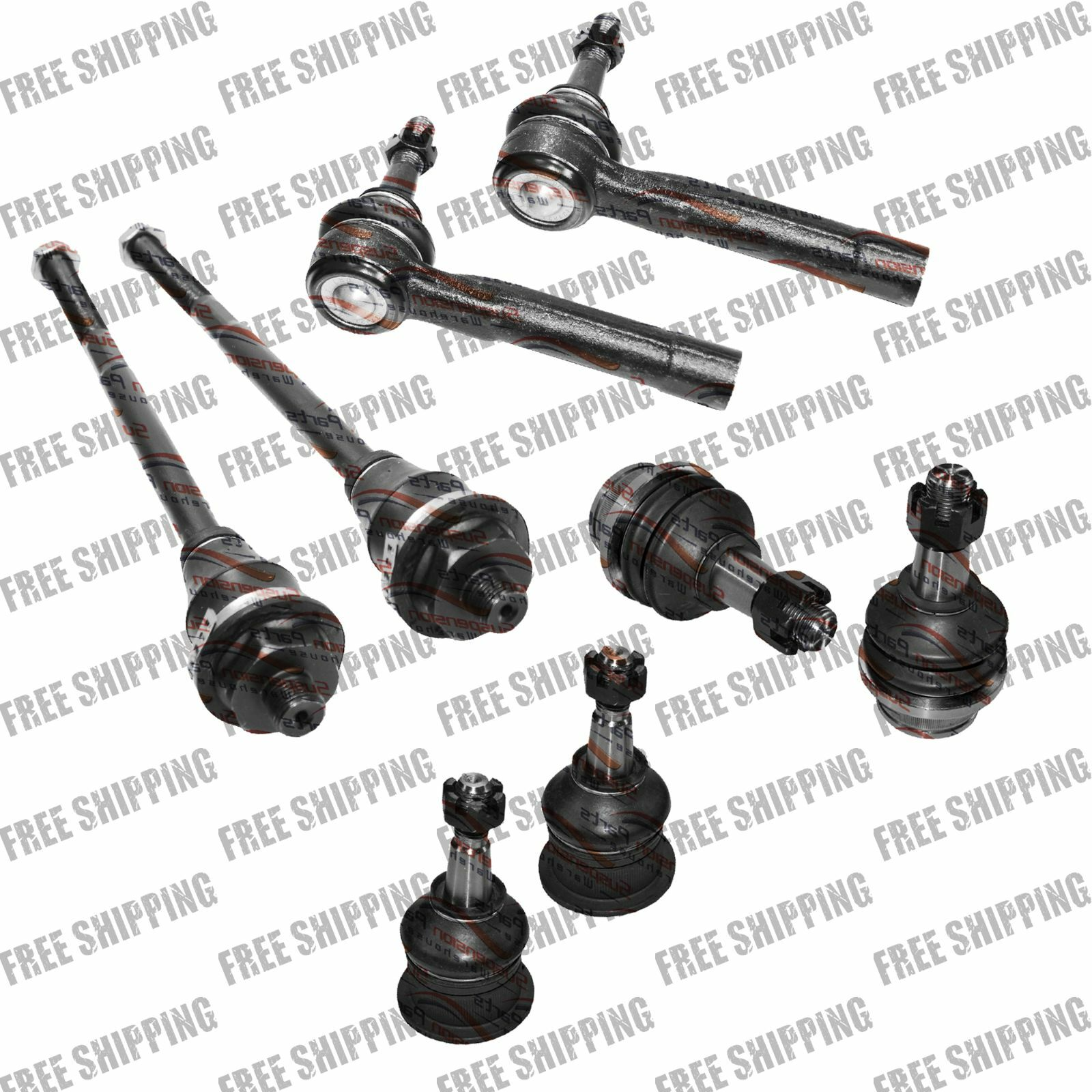 Front Steering Chassis Kit Tie Rod End Ball Joints For Gmc