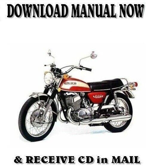 Suzuki T500 T 500-II factory repair shop service manual on