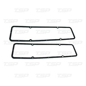 Small Block Chevy Valve Cover Gaskets Steel w Rubber 3/16