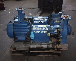AJAX centrifugal process pump 125 x 100 - 315 3~ 18.5kW POPE induction motor   eBay