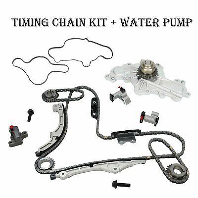 Timing Chain Kit Water Pump Fit 07-10 Ford Edge Taurus
