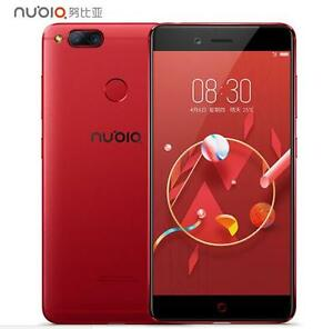 "ZTE nubia Z17 Mini 5.2"" Snapdragon Octa core Red Dual Rear Camera 64GB Unlocked"