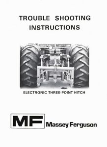 Massey Ferguson Trouble Shooting MF2000 Series Electronic