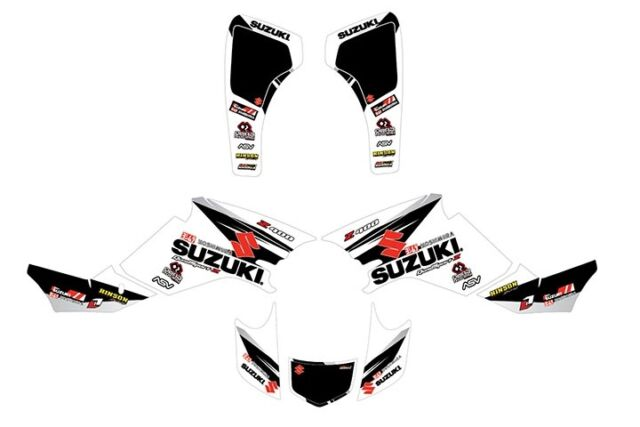 Fits LTZ 400 2003 to 2008 GRAPHIC KIT SUZUKI LTZ 400