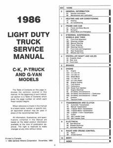 clearance discount sales 1986 Chevrolet GMC Truck Van