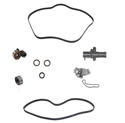 OEM Complete 9-Pc Timing Belt Kit for MDX RL TL TSX Accord