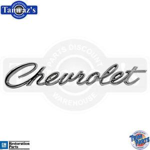 66 & 68 Chevrolet Impala Deck Trunk Lid Emblem Script