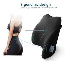 lower back support for chair desk big lots lumbar cushion memory foam car pillow pain item 6 tailbone new