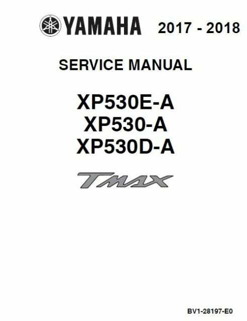 Yamaha TMAX base / SX / DX XP530 2017 2018 530 t-max