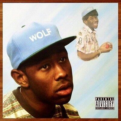 tyler the creator wolf ltd ed rare new poster odd future earl sweatshirt hodgy ebay