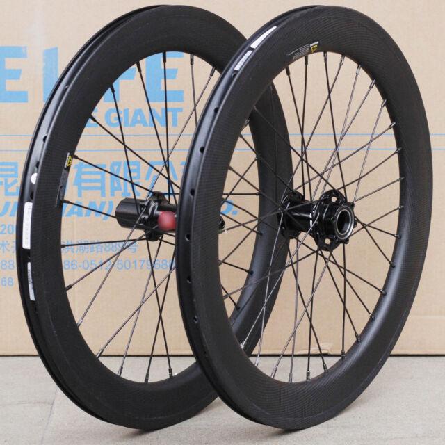 Carbon 20 451 Wheelset Lefty Hubs Disc Brake For