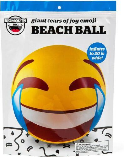 Beach Ball Emoji : beach, emoji, Games, Emoji, Beach, Bigmouth, Giant, Tears, Laughing, Inflatable, Outdoor