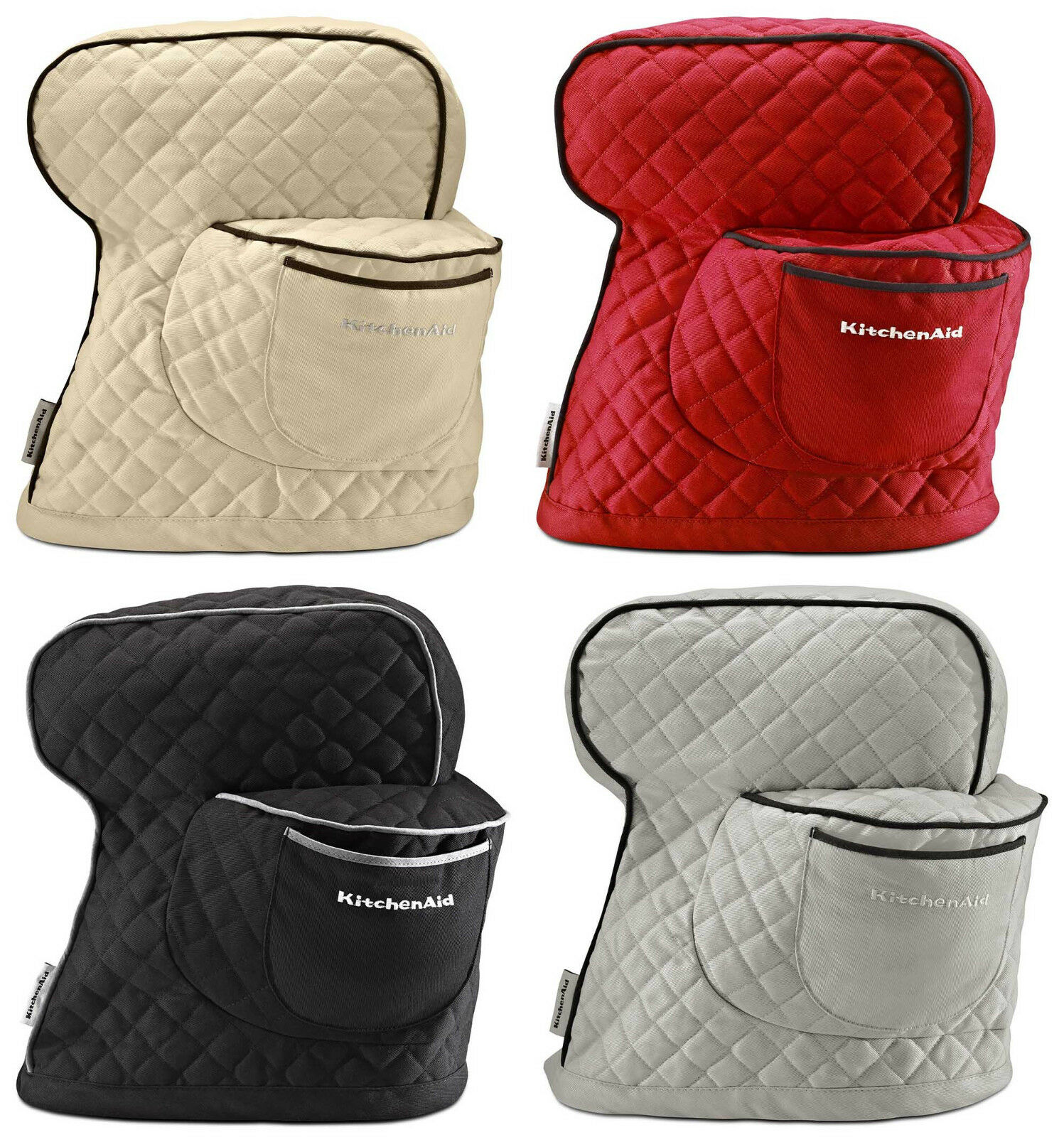 kitchen aid stand mixer cover christmas towels kitchenaid ksmcti fitted 4 colors ebay