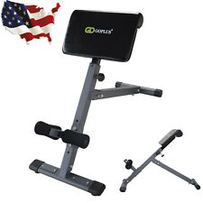 ab cruncher chair stool for patient roman exercise bench hyperextension abdominal crunches lower adjustable back good us m