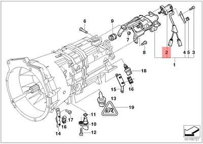 Genuine BMW Gear Position Switch For Sequential Manual