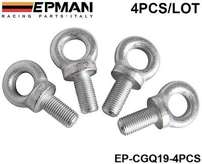 EPMAN Competition Harness Eye Bolt Size 7/16 For Racing