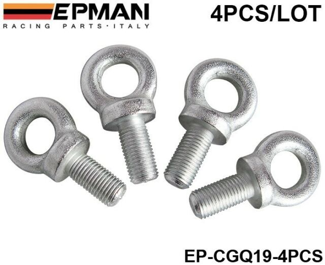 Seat Harness Eye Bolts Size 7/16 Set 6pcs for Racing Seat