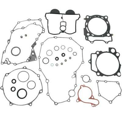 Moose Complete Gasket Kit w/ Oil Seals for Yamaha 2009-17