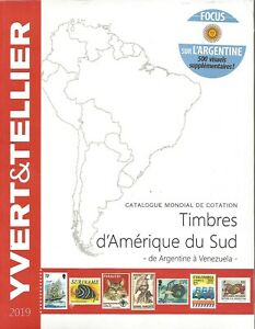 Catalogue Yvert Et Tellier 2019 : catalogue, yvert, tellier, YVERT, TELLIER, STAMPS, CATALOG, SOUTH, AMERICA, SPECIAL, ARGENTINA