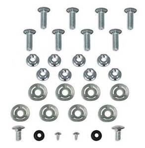 1970 Mustang Bumper Bolt Mounting Kit Front and Rear 30