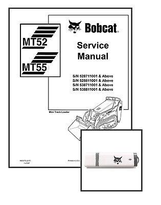 Bobcat MT52 MT55 Workshop Repair Service Manual 6903372