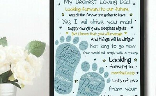 Fathers Day Gifts Daddy To Be Gifts From The Bump Baby