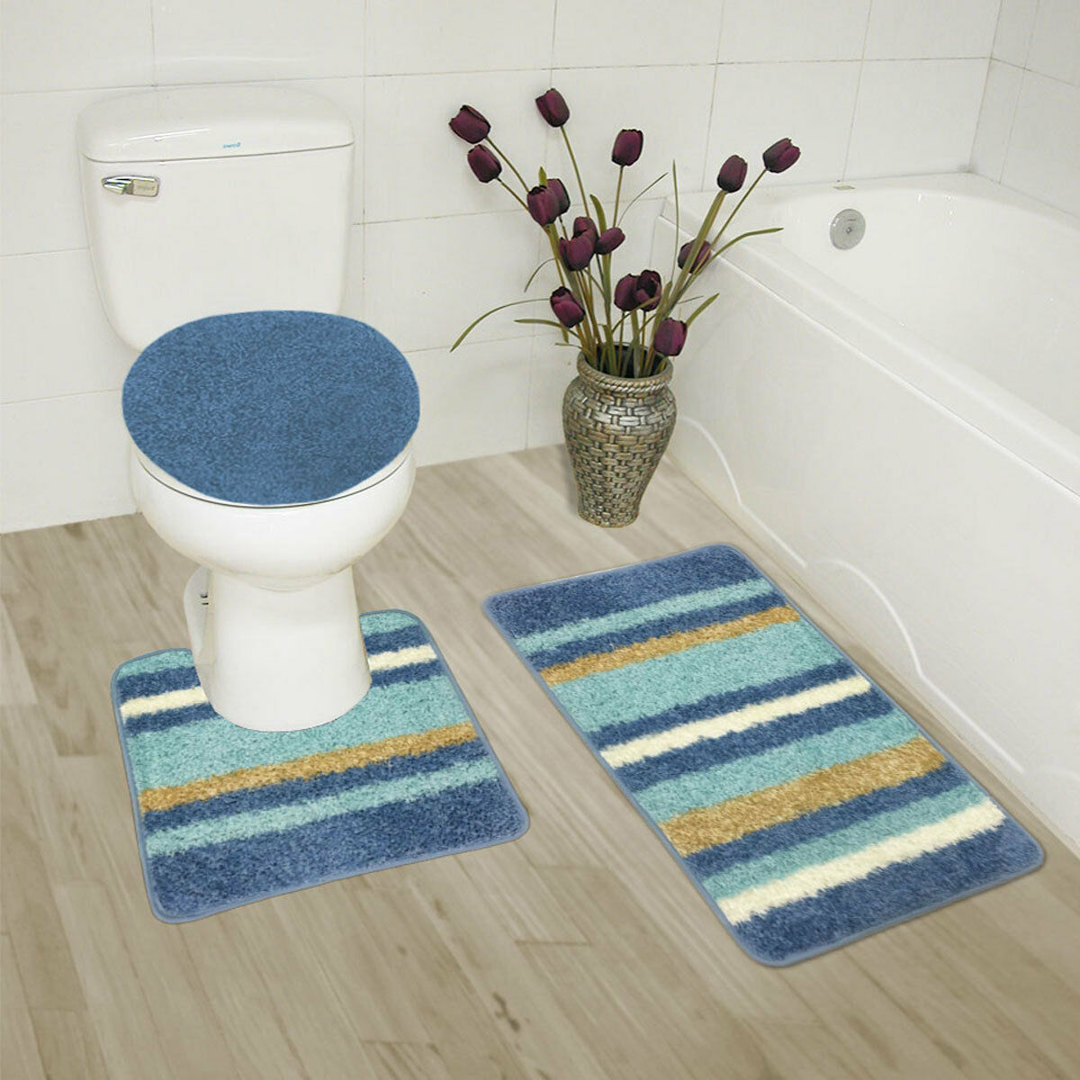 abbie sofa navy professional cleaning los angeles abby 3 pc bathroom rug set bath contour lid
