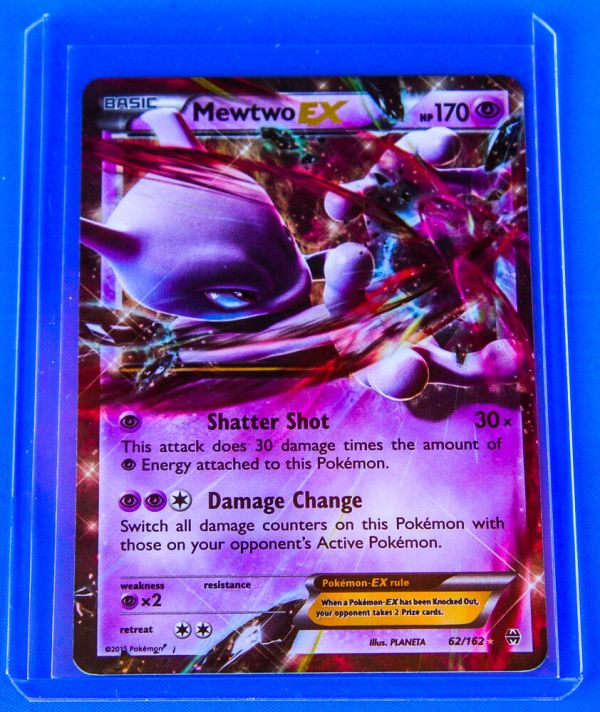 Pokemon Mewtwo 62 162 - Xy Breakthrough Ultra Rare Card