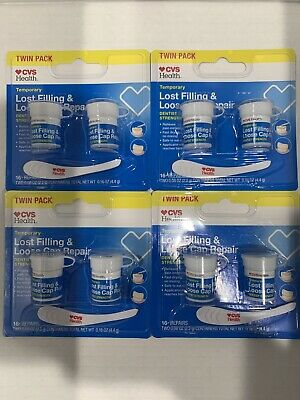 Lot of 4 Double Kits CVS Temporary Lost Filling & Loose ...
