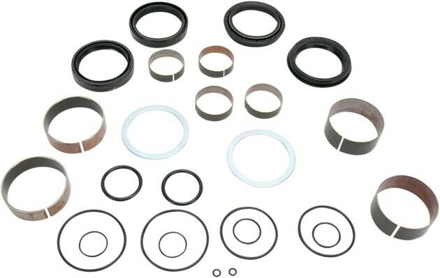 Pivot Works Fork Bushing and Seals Kit for Suzuki RM125