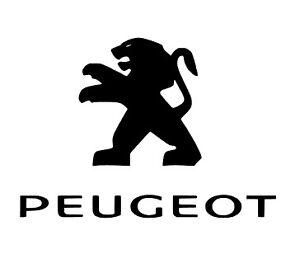 Vinilo de corte logo PEUGEOT MARCA COCHE EMBLEMA STICKER