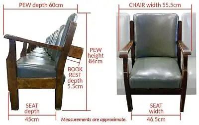 old cinema chairs 47