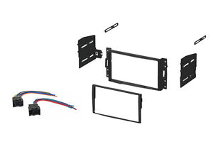 Double DIN Car Stereo Dash Kit Harness 07-10 Chevy Aveo 09