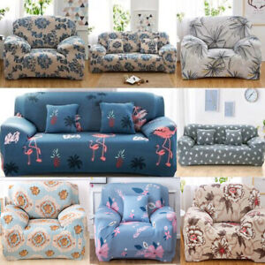 details about easy fit stretch sofa cover protector couch recliner slipcover 1 2 3 4 seater uk
