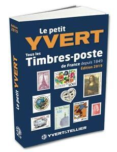 Catalogue Yvert Et Tellier 2019 : catalogue, yvert, tellier, YVERT, TELLIER, STAMPS, SMALL, CATALOG, FRANCE, SHEETLET