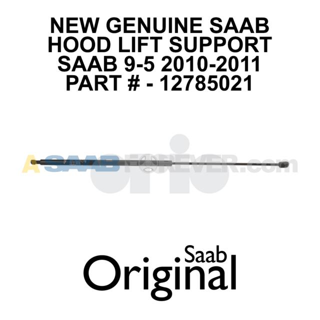 NEW Genuine SAAB Hood Lift Support Hood Strut SAAB 9-5
