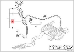 Genuine BMW 3 Series E90 E91 E92 Exhaust Electric Valve