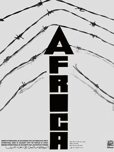 4532.OSPAAAL.africa.barbed wire.imperialism.POSTER.decor