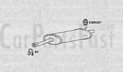 Caja De Medio Y Parte Trasera de Escape Fiat Tipo 1.9