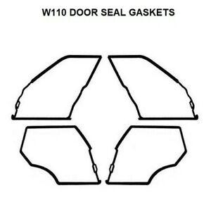 Door Seals Weatherstrip OUTER DOOR Seal Gaskets 190 190D
