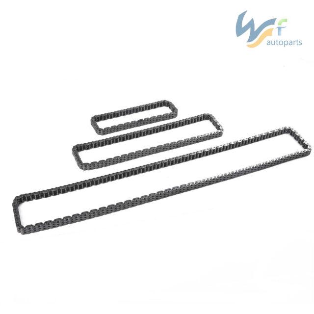 3X Timing Chain&Balance Shaft Chain&Oil Pimp Chain For VW