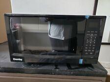 danby designer 0 7 cu ft countertop microwave black stainless steel