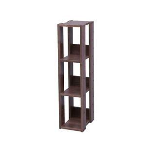 Narrow Slim Entry Hall Shelving Unit Skinny Stand Open Shelf For Small Spaces Ebay