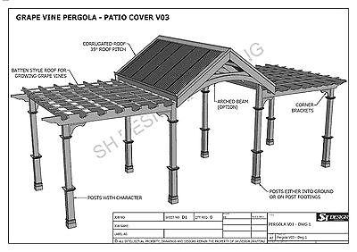 weintraube rebe outdoor pergola patio abdeckung veranda v3 voll bauplane ebay