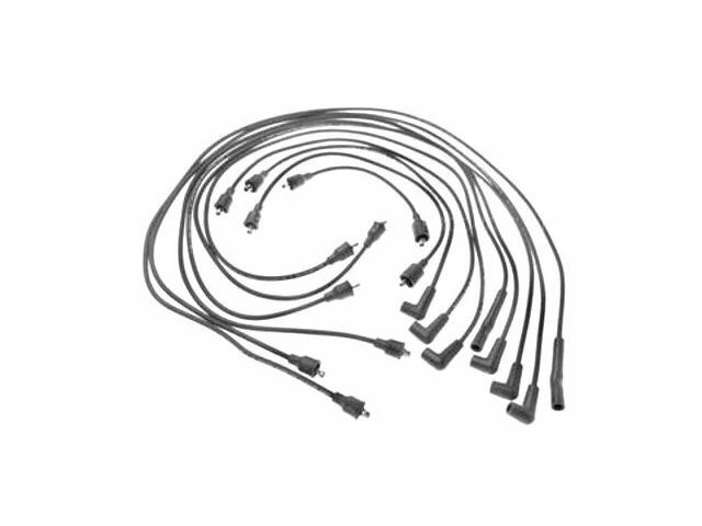 For 1975-1977 Dodge W100 Spark Plug Wire Set SMP 41768FH