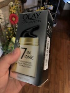 Olay 7 in 1 Moisturizer Plus Touch of Foundation 1.7 oz ...