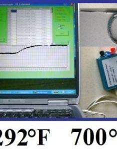 Image is loading lab thermocouple temperature chart recorder data logger computer also pc rh ebay
