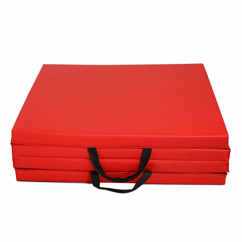 2 X2 X8 Gymnastics Tumbling Exercise Gym Sport Fold Yoga